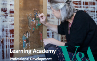 V&A Learning Academy 2017-2018 brochure front cover